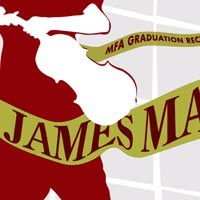 Poster for James Mark's Violin Graduation Recital