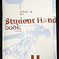 CalArts School of Art Student Handbook 2005/06