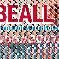 Poster for Beall Center of Art + Technology