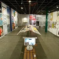 "Exhibition design for ""It Could Be Anything"""