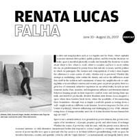 REDCAT Exhibition: Renata Lucas