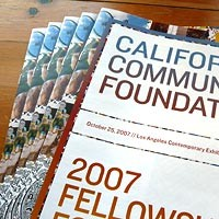 California Community Foundation brochure