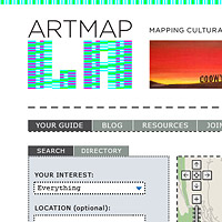 Artmap LA Website Design