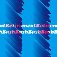 Retirement Bash Postcard