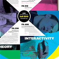 USC Intermedia Poster (Fall 2010)