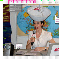 Artist website for Elana Mann