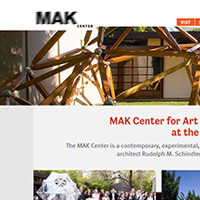 MAK Center website